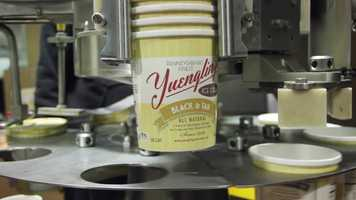 Yuengling's Ice Cream containers
