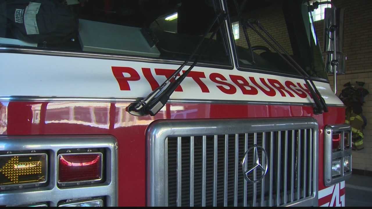 Pittsburgh fire truck