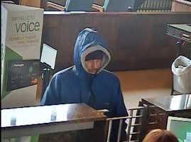 A New Castle bank was robbed Thursday, and police believe their robber is the same person wanted in two other bank robberies.