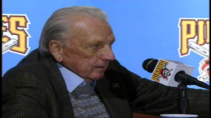 Ralph Kiner wore No. 4 when he played for the Pirates. His number is retired by the franchise.