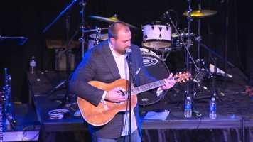 """Keisel even grabbed a guitar and treated the crowd to his own rendition of Johnny Cash's """"Ring of Fire."""" (Click HERE to watch the video)"""