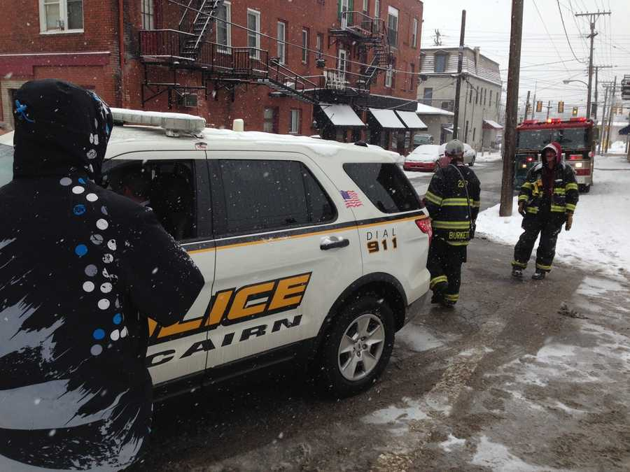 Equitable Gas crews are responding to the situation on 2nd Street. No injuries or sicknesses were being reported.