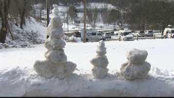 Channel 4 Action News' Shannon Perrine tries to get some perspective on the snowfall Pittsburgh has seen this winter.
