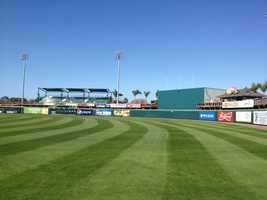 The field has been renovated several times, including major upgrades last year.