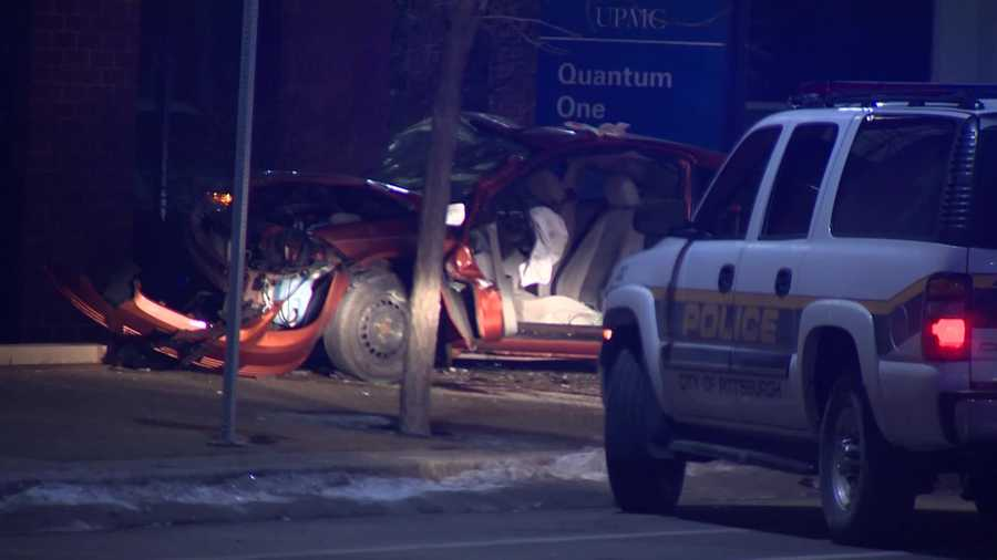 The fatal accident at East Carson and South 29th streets was reported to 911 shortly after 4:50 a.m.