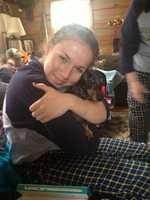 Assignment Editor Liz Brady's dog Gus.