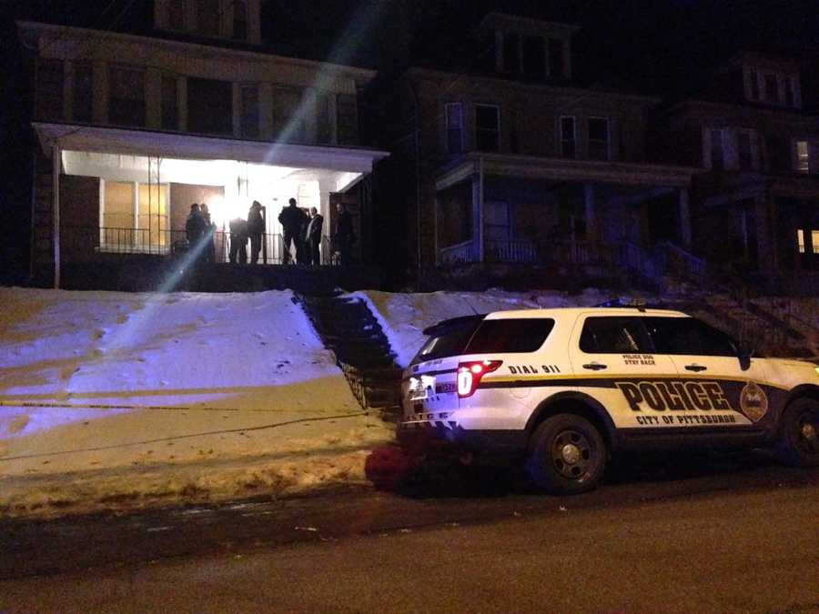 The man was detained for several hours while police searched his Chislett Street apartment, which is next door to the house where the Wolfe sisters lived.