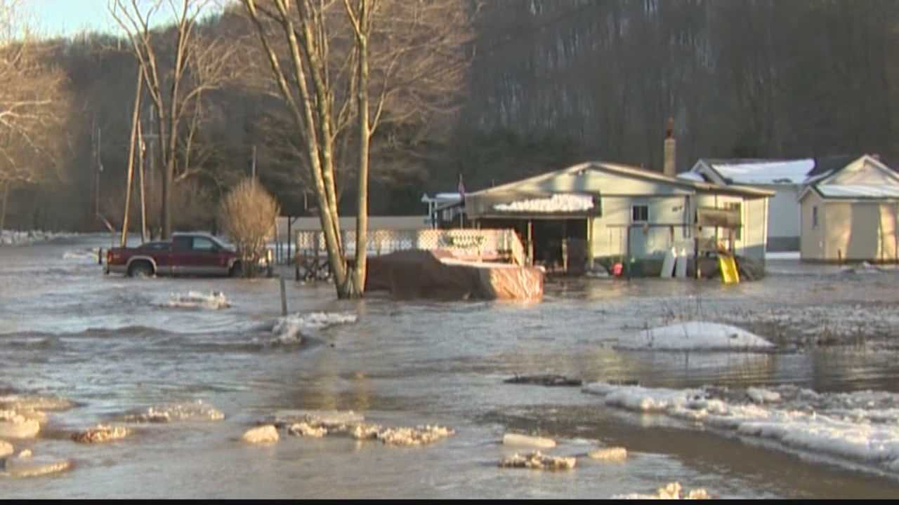 Boats used to rescue Bolivar residents from severe flooding