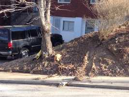 The fatal accident happened on a hill on Schenley Manor Drive in Stanton Heights.