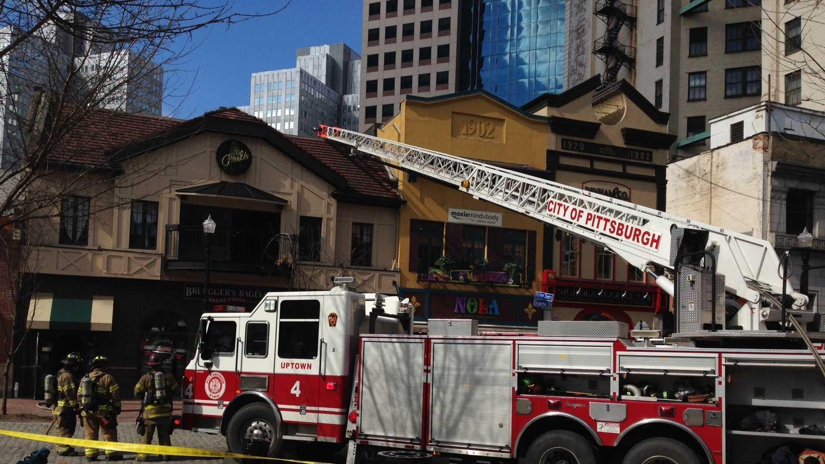 Market Square fire