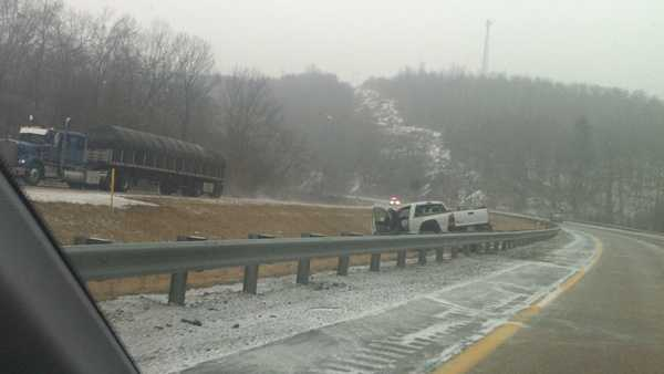 An accident on Route 28, between exits 15 and 16.