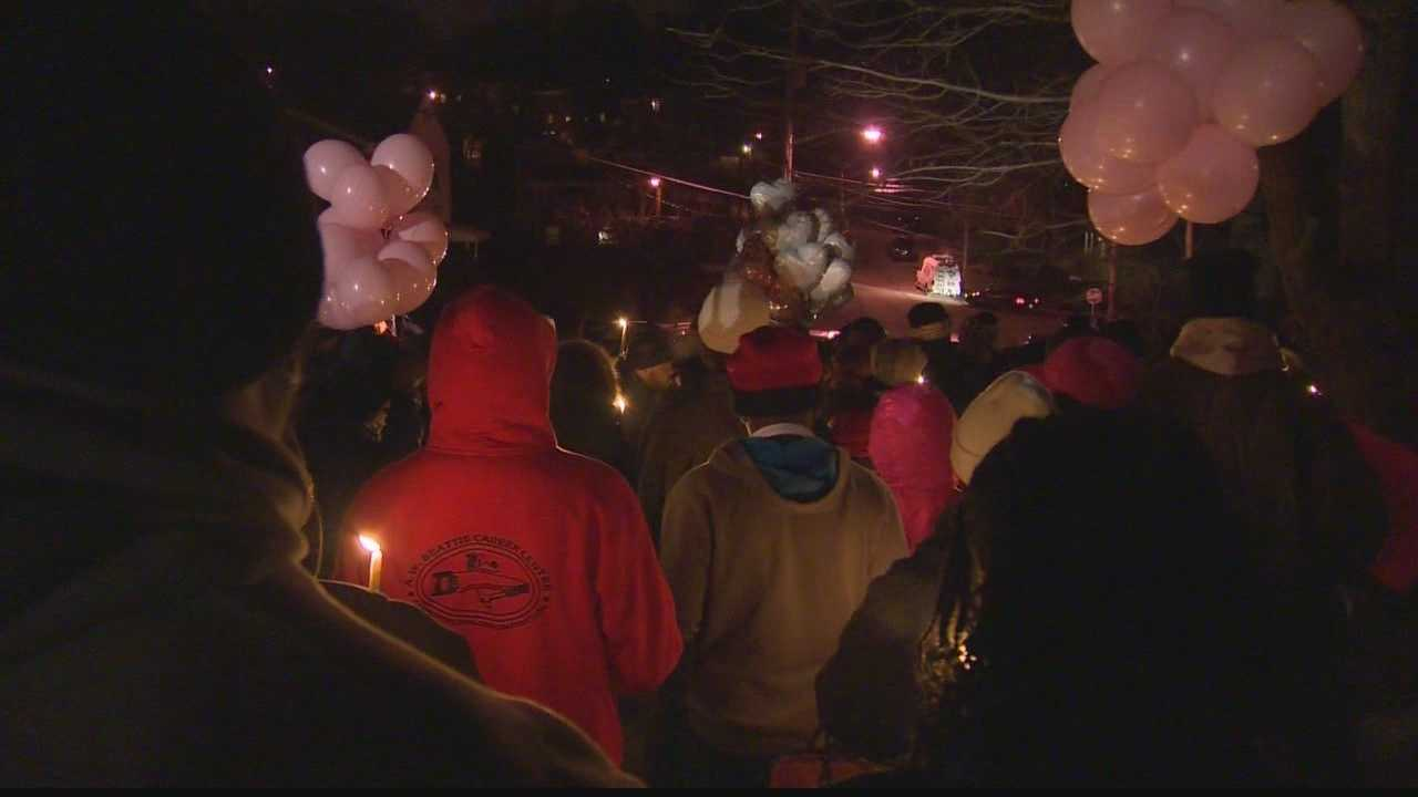 Friends and family are remembering 12-year-old Shamera Harris, who police said was killed when her father's SUV rolled over her.