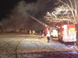 One person was injured and another was found dead after an early morning fire in Cecil Township.