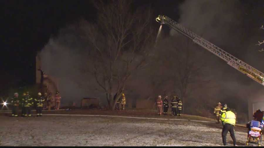 A state police fire marshal will determine the cause of the fire in Cecil Township.