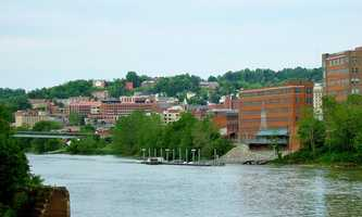 Monongalia County, W.Va.341 people moved here from Allegheny County between 2007 and 2011. (County seat: Morgantown.)