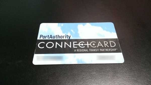 A Port Authority ConnectCard.