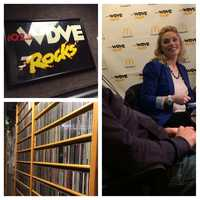 Action News Weekend Anchor Jackie Schafer visits WDVE as guest host on the morning show February 28, 2014.
