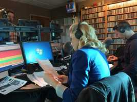 Action New Weekend Anchor Jackie Schafer visits WDVE as guest host on the morning show February 28, 2014.