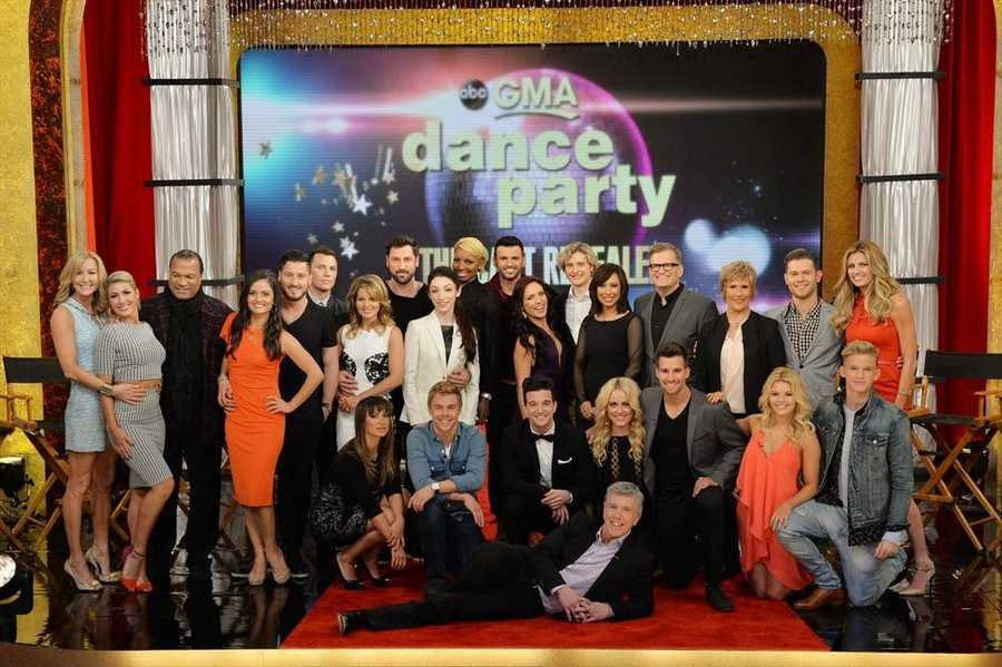 """The cast for Season 18 of """"Dancing With the Stars"""" was revealed live on """"Good Morning America."""""""