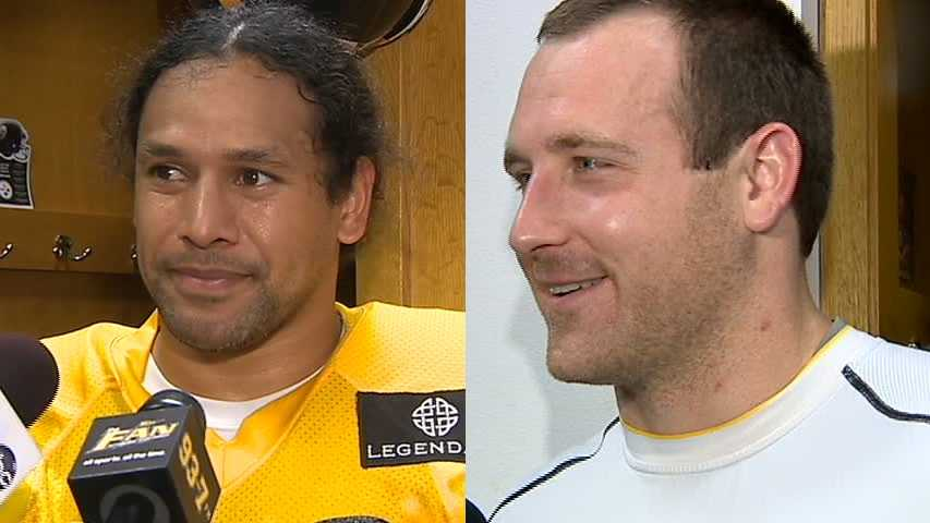 Troy Polamalu, Heath Miller