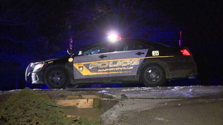A Murrysville police car.