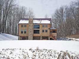 This stunning home includes an additional 3 bedroom guest house on the spectacular property. the main home includes five bedrooms, four bathrooms, and a beautifully designed kitchen.Location: 119 Valley Lane, Indiana Township, PA