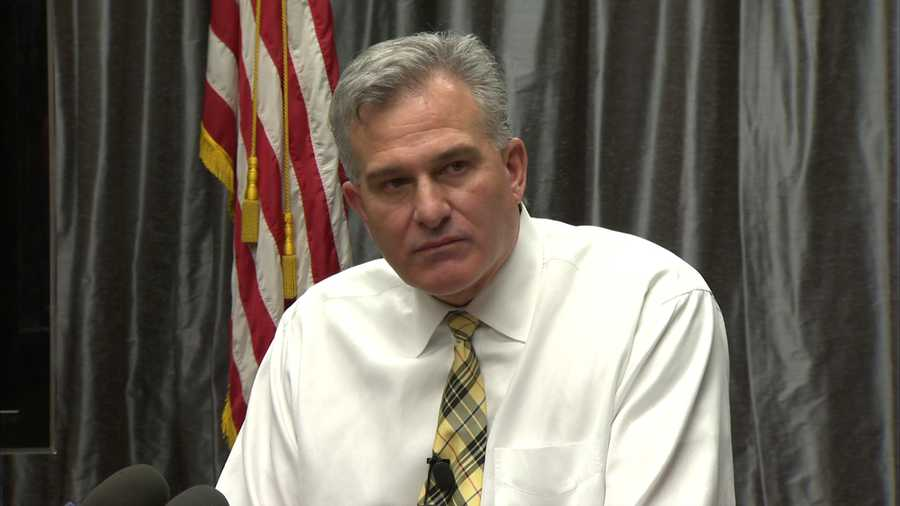"March 12: One week after Wade's arrest, Zappala says ""there was entirely too much information put out"" to the public during the investigation."