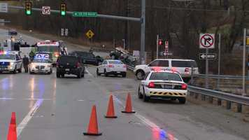 A car with four juveniles inside was speeding on Walnut Hill Road above Route 119 before getting into a crash that killed two teens and injured two others Wednesday afternoon, state police said.