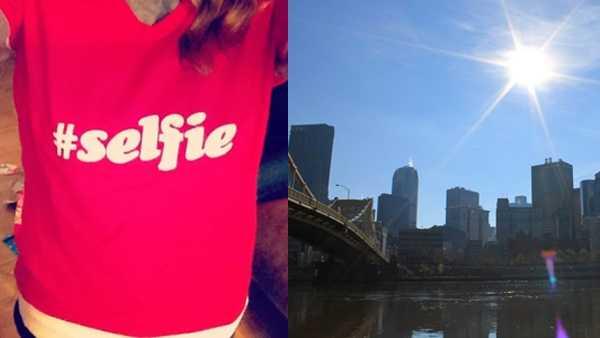 selfie pittsburgh blurb