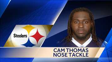 The Steelers signed former San Diego Chargers nose tackle Cam Thomas to a two-year deal.