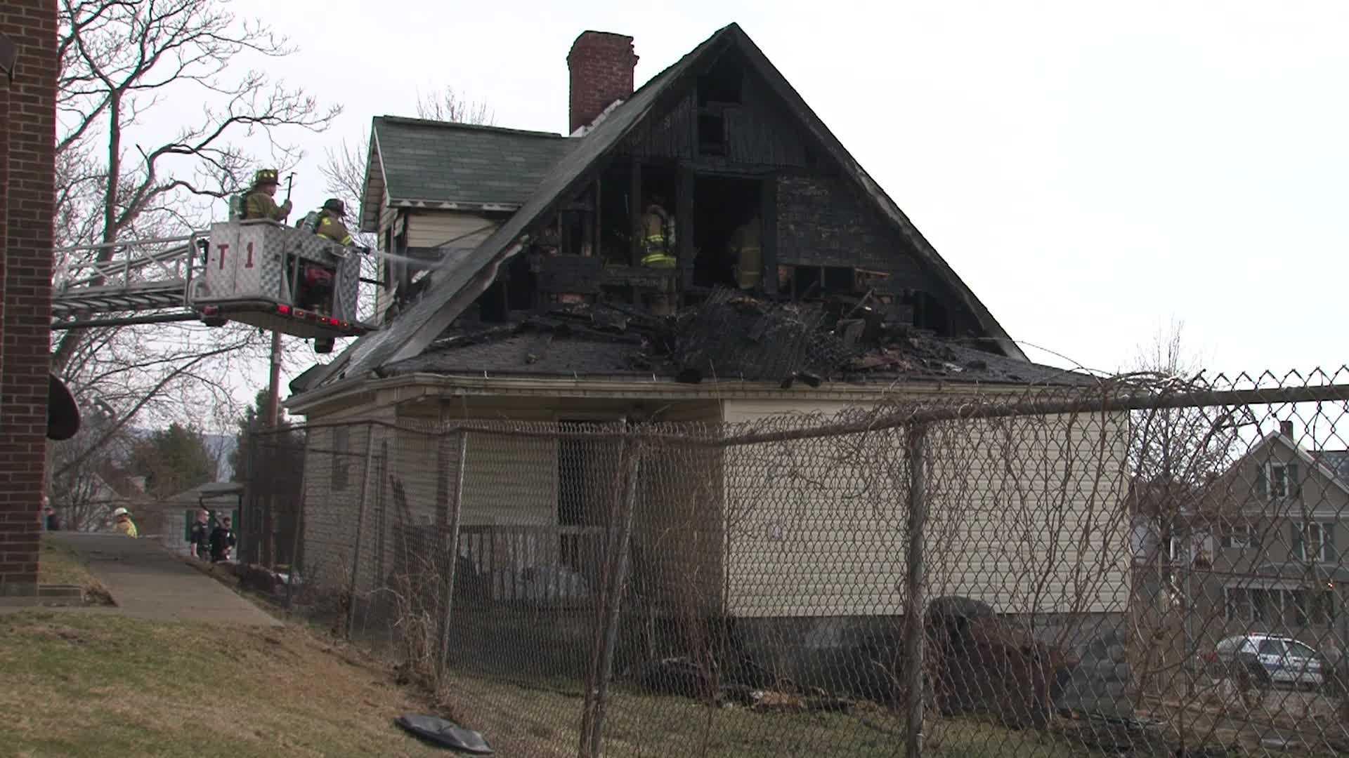 Uniontown house fire (no caption)