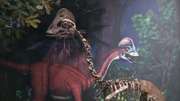 """""""When a person who is not that familiar with dinosaurs sees this thing for the first time, the first thought isn't, 'What a weird looking dinosaur.' The first thought is often, 'What a really weird looking bird,'"""" said Dr. Matt Lamanna, assistant curator of vertebrate paleontology at the Carnegie Museum of Natural History."""
