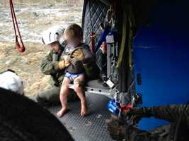 "A U.S. Air Force veteran who grew up in Bethel Park was part of a helicopter rescue team that pulled Spillers' 4-year-old son from the mudslide. ""It had to be overwhelming to have this loud, noisy helicopter to come up right next to him and he stood there looking as calm as can be,"" said Central Pierce Fire and Rescue Assistant Chief Ed Hrivnak. ""That guy's a little trooper."""