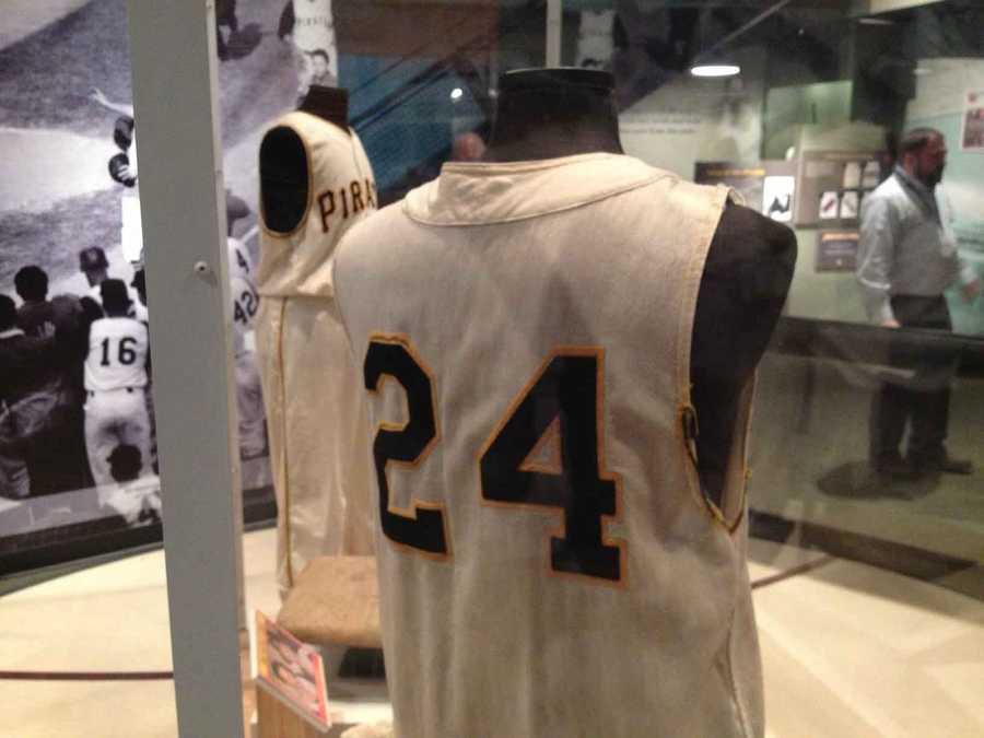 Dick Groat's uniform from his 1960 MVP season