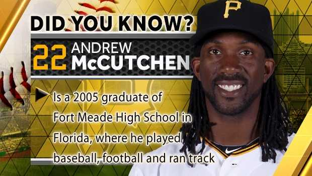 Is a 2005 graduate of Fort Meade High School in Florida, where he played baseball, football and ran track