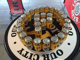 I.C. Light beer cans with Pirates logos will be sold at PNC Park.