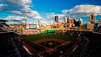 1) PNC Park, Pittsburgh, Pennsylvania