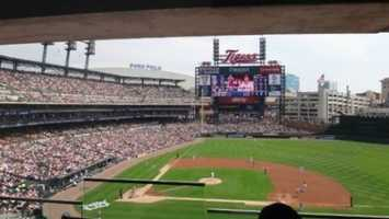 9) Comerica Park, Detroit, Michigan