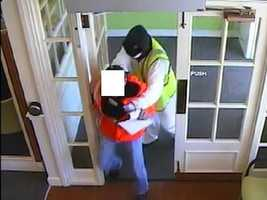 The FBI said Huntington Bank on Lincoln Way in White Oak was robbed Monday at about 9:45 a.m. The robbers are still at large. Here are some surveillance photos from the bank.