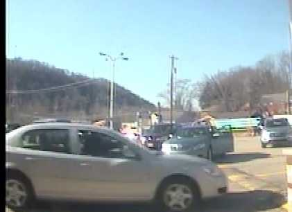 The FBI said two robbers fled Huntington Bank on Lincoln Way in White Oak in a silver four-door sedan. The bank is offering a $10,000 reward for information that leads to an arrest. Call the FBI at 412-432-4000.