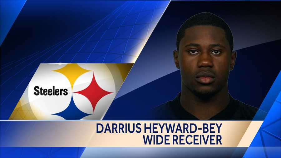Former Raiders and Colts wide receiver Darrius Heyward-Bey signed a one-year deal with the Steelers.