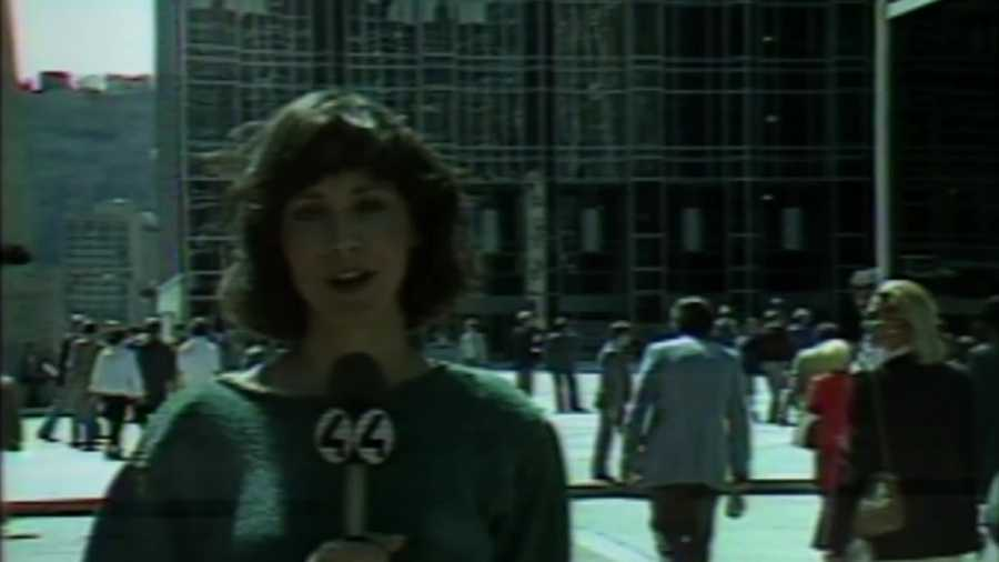 PPG Place in downtown Pittsburgh opened in April 1984 after several years of planning. The late Yvonne Zanos covered the story on WTAE. (VIDEO: Watch her report)