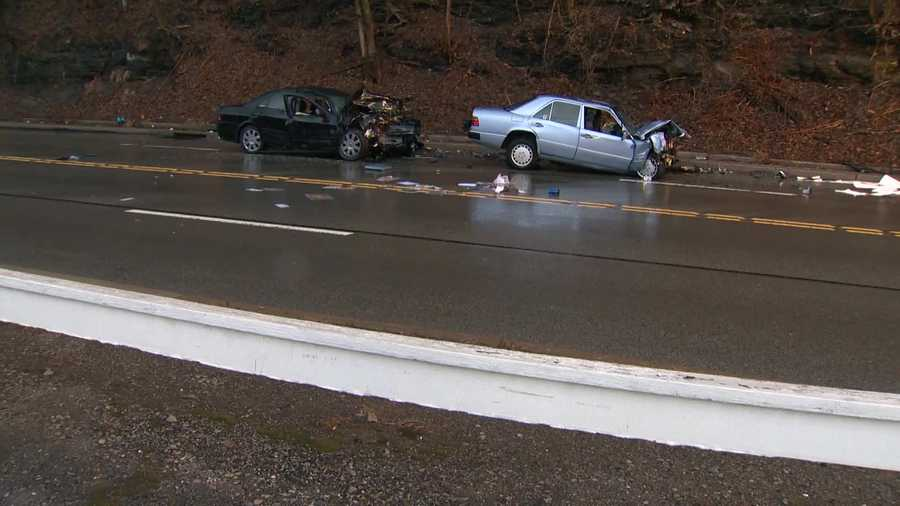 Two people were killed Thursday evening in a head-on crash in White Oak.