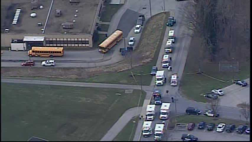 Twenty-four people were injured Wednesday morning at Franklin Regional High School in Murrysville, where police said a teen armed with two stainless steel kitchen knives walked through the hallways and began stabbing his fellow students before classes were about to start.