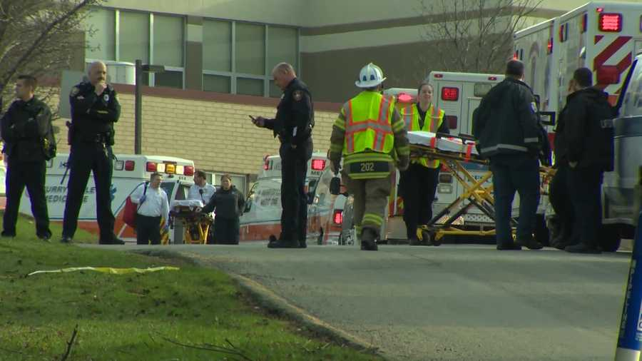 Richie Satira, a student, told Pittsburgh's Action News 4 that he was in the math wing at Franklin Regional High School when someone began stabbing students inside the building in Murrysville.