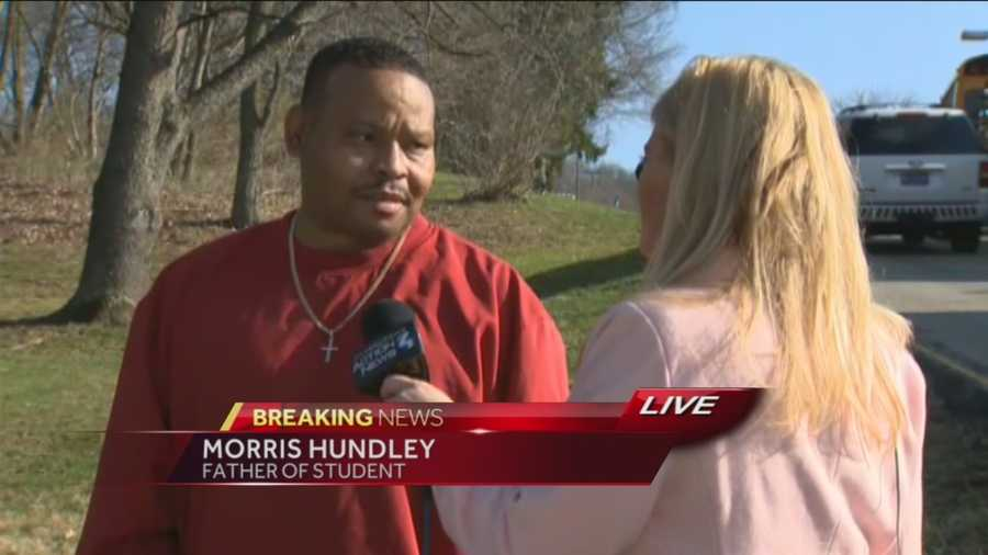 Morris Hundley said he got a frantic phone call from his daughter, a ninth-grader at Franklin Regional High School, telling him that students were being stabbed inside the building in Murrysville.