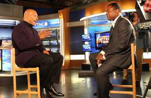 Pittsburgh's Action SportsAndrew Stockeysat down with former heavyweight boxing champion Mike Tyson this morning at the WTAE-TV studio to talk about his addiction history and boxing card being held at the Monroeville Convention Center this week.