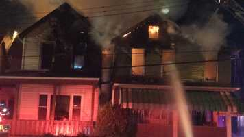 Calls about the fire on North Fourth Street came in just before 5 a.m. These photos were shared on u local by Pittsburgh's Action News 4 viewers.