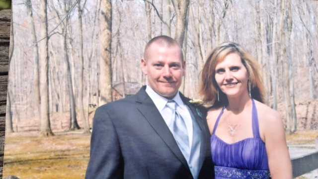 Crystal Kelley (right) was killed and her husband, Robert (left), was injured in a crash on Route 156.