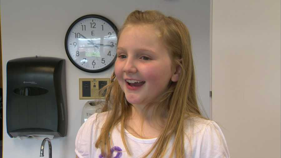 Instead of getting gifts for her 8th birthday in March, Mya Fox wanted to celebrate the occasion by helping others.